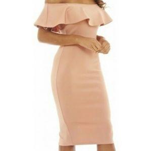 AX Paris Curve Dresses & Skirts - AX Paris Women's Off The Shoulder dress