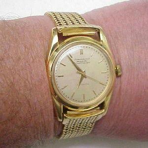 Other - Authentic IWS Schaffhausen 18k gold watch Men's