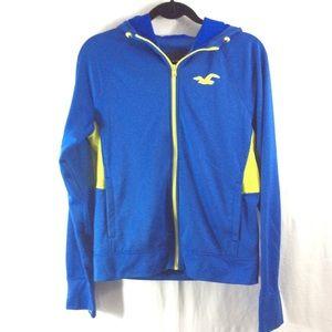 Hollister Other - Hollister blue/yellow jacket