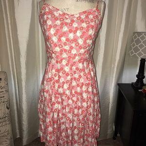 Old Navy flower printed dress