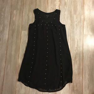 ivy + blu black sleeveless dress