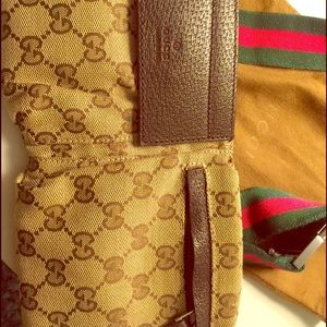 d96041b7e36 Gucci Bags - Authentic Gucci GG canvas Belt Bag