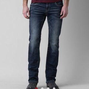 Buckle Black Fit No. 3 Straight Leg denim.
