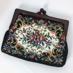 Vintage Handbags - Vintage Tapestry Bag