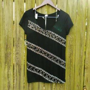 Cocomo Tops - Sequin shirt