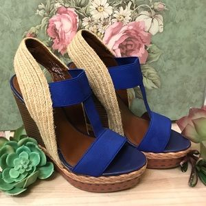 Boutique 9 platform wedges
