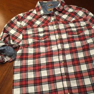 Jachs Tops - Jachs girlfriend flannel button down