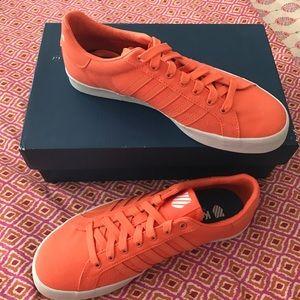 K-Swiss Shoes - Just arrived K-SWISS cool sneakers in orange. ❤️