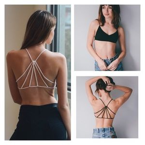 Other - Just In- Sexy Strappy Back Bralette