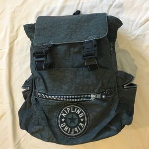 Kipling Backpack in Olive Green