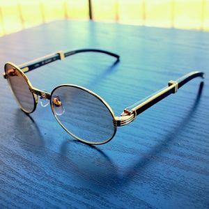Cartier Other - Vintage Cartier Black Natural Horn Sunglasses