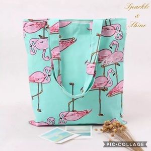 Summer Paradise Handbags - 🍹BOGO50% OFF!💠NWT Flamingo Tote Bag