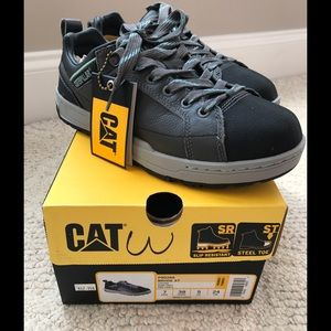 Caterpillar Shoes - CAT Oxford slip resistant steel toe brand new