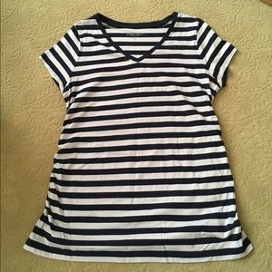 Liz Lange for Target Tops - Liz Lange Striped Maternity Tee