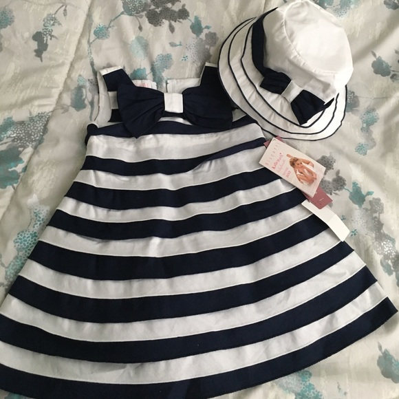 cd88944501a Kate Mack dress and matching hat
