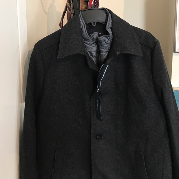 Tommy Hilfiger Other - Tommy Hilfiger charcoal Briggs winter coat