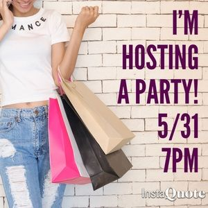 Poshmark Dresses & Skirts - It's a Posh Party 🎉 5/31 7pm