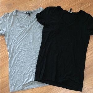 Isabella Oliver Tops - Isabella Oliver Baukjen Designer V Neck Shirts Top