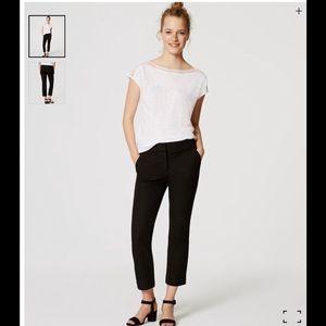 Ann Taylor Loft  bi stretch crop Marisa pants 👖