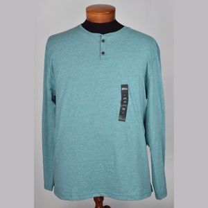 Boca Classics Other - NWT Mens Large Long Sleeve Henley