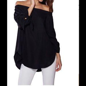 Tops - Women's off the shoulder blouse