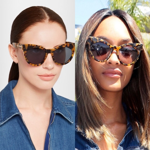 cda693fada71 Karen Walker Accessories - Karen Walker Tortoiseshell Starburst sunglasses