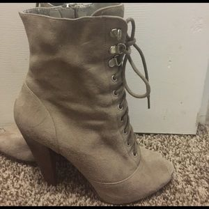 Guess Shoes - Guess lace up ankle booties