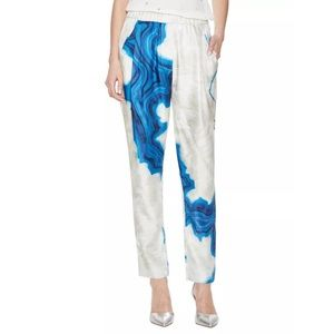 3.1 Phillip Lim Pants - 3.1 Phillip Lim Raw Silk Geode Pants
