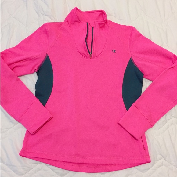 Champion - Champion neon pink fleece pullover from Alex ...