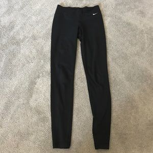Nike dri fit black leggings XS