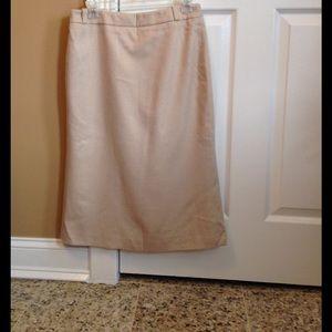 MaxMara pencil skirt 100%camelHair very soft