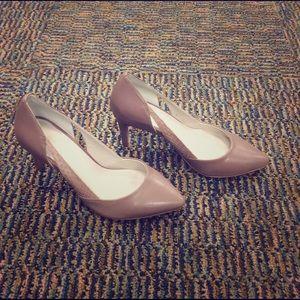 Reiss Shoes - NEW Mauve/Blush Heels