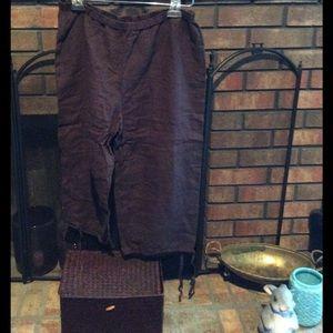 Eileen Fisher Pants - Eileen Fisher Crop Pants