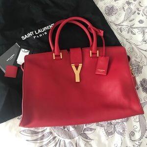 Saint Laurent Handbags - Saint Laurent Medium Cabas Y tote