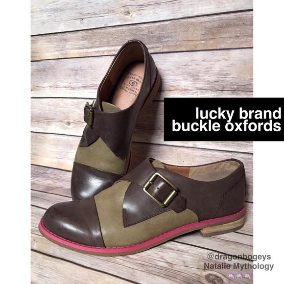 Lucky Brand Buckle Oxfords