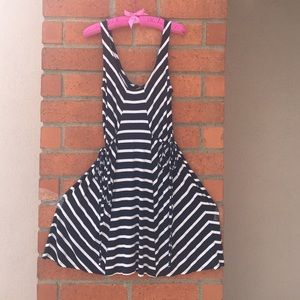 LAmade Dresses & Skirts - LAMade Navy blue and white striped dress
