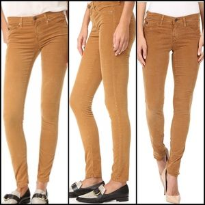AG Adriano Goldschmied Denim - AG THE LEGGING Jeans Super Skinny Camel Corduroy