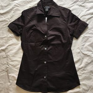 Banana Republic short sleeve button shirt