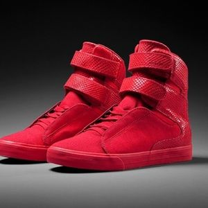 Supra Shoes - Red Supra Valentines Day Collection