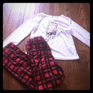 Cloud 9 Other - Girls Size 14/16 Two-Piece Pajama Set: Cloud Nine