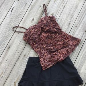 ASSETS by Sara Blakely Other - Leopard Print Tankini Top