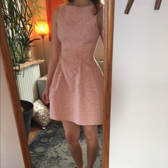 9452a34f7a Zara pink tweed dress. M 58c9840efbf6f9b99e00f668