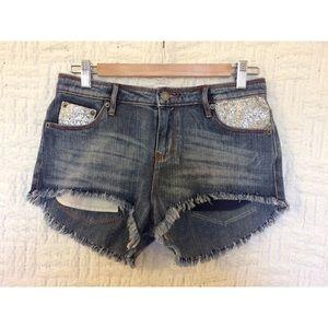 sass & bide Pants - Sass & Bide Sparkle Shorts