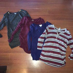 Tops - Maternity Shirt Bundle