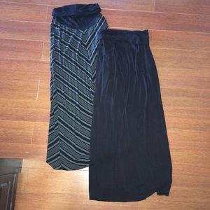 Motherhood Maternity Dresses & Skirts - Motherhood Maxi Skirt Bundle
