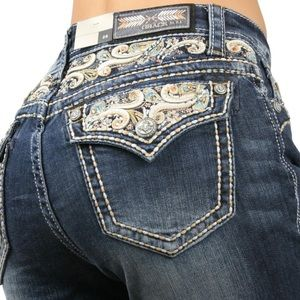 Grace Denim - GRACE dark wash jeans
