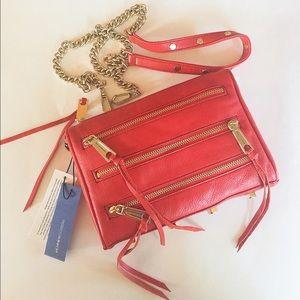 Rebecca Minkoff Handbags - 🆕NWT Rebecca Minkoff mini 5 zippers crossbody bag