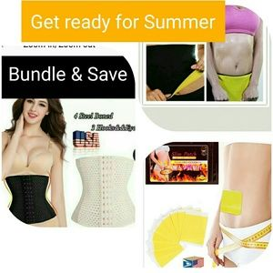 Other - Bundle waits loss products waist Trainer slim patc