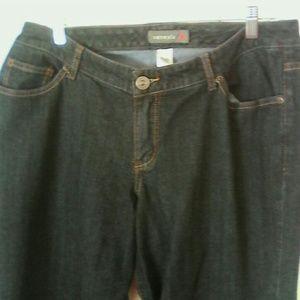Venezia Denim - Venezia Stretch Bootcut Jeans 2 Woman's Plus Tall