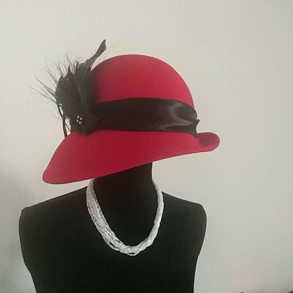 Accessories - Mr. Charles Vintage Wool Hat by Michael Howard 57f7aca1580